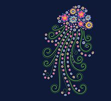 Jellyfish, Flower Of The Sea by boom-art