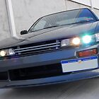 Nissan Sileighty Angled HIDs by impulse