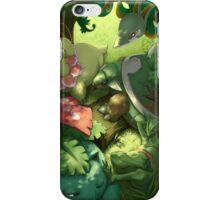 Grass-Type Starter - Pokemon iPhone Case/Skin