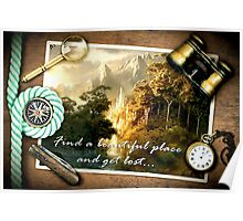 Find a beautiful place and get lost...Rivendell Poster