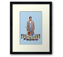Be My Dean Framed Print