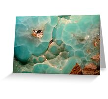 Rocks and Minerals Greeting Card