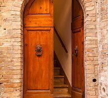 Doorway to San Gimignano by Julian Elliott