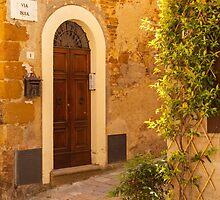 Pienza Doorway by Julian Elliott