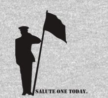 Salute one today by Rachel Counts