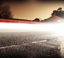 Light Trails 3 by Ben Baldwin-Davies