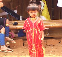 Girl from Karen tribe - Thailand by patriciamccoy