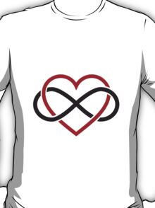 Infinity heart, never ending love T-Shirt