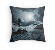 Panic Attack or Anxiety PTSD Throw Pillow