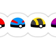 Poke Ball Hierarchy  Sticker