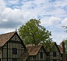 Agecroft Recropped  by Victoria DeMore
