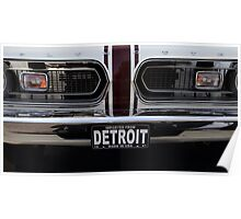 '67 Barracuda Made in Detroit. Poster