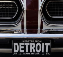 '67 Barracuda Made in Detroit. Sticker