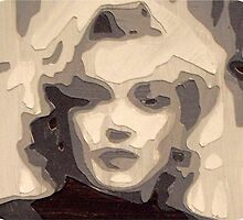 marilyn collage papercraft 3-d by KENINOMAHA