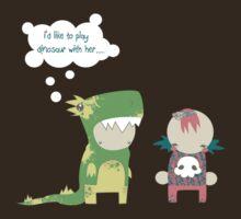 Dino crush by bahgoesthesheep