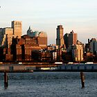 sunset in New York by soulphoto