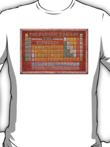Victorian Style Periodic Table Of The Elements T-Shirt