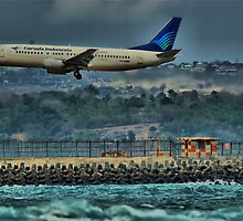 Denpasar Incoming by Simon Muirhead