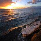 Sunset on Maui by Dean Symons
