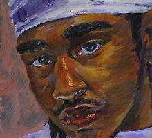 """""""Self Portait of the Artist"""" by colorblind"""