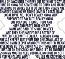 Sing! Ed Sheeran Sticker