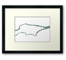 River Lee Framed Print
