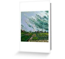 Before Thunder Storm Greeting Card