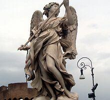 Angel in Stone 2 by MarleneM