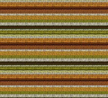 Knitted Pattern Set 9 - Yellow/Green/Brown by wrapsio