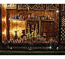 Babushkas - Royal Arcade, Melbourne, Victoria, Australia Photographic Print