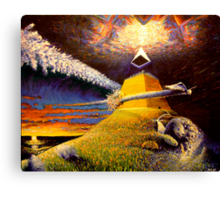 end of days Canvas Print