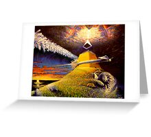 end of days Greeting Card