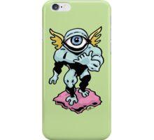 Hang Loose, Winged Eye-Face iPhone Case/Skin