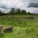 Roman Temple by Nigel Bangert