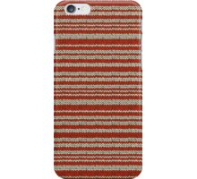 Knitted Pattern Set 14 - Red/White iPhone Case/Skin