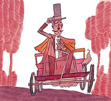 19th Century Car Enthusiast by Rory Lucey