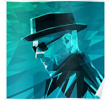 Heisenberg Stained Glass Poster