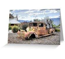 Rusty is Back! Greeting Card