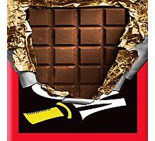 Chocolate Bar Photographic Print