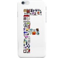 BS ABC's: F iPhone Case/Skin