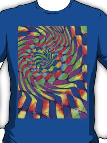 Tumblr 33 by CAP - MAGIC MOVING Optical Illusion Psychedelic Design T-Shirt