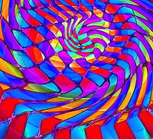 Tumblr 34 by CAP - Magic Optical Illusion Psychedelic Vibrant Colorful Design by capartwork