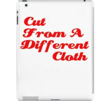 Cut From A Different Cloth iPad Case/Skin