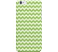 Lime Green Chevrons iPhone Case/Skin