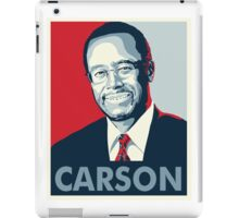 Ben Carson 2016 iPad Case/Skin