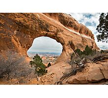 Window to a New World - Arches National Park, Utah Photographic Print