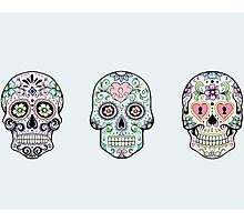 Sugar skulls Photographic Print