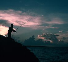 Fishing Cayo Coco by Zhihai Zhong