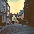 Street in Wurzburg 1977 by Priscilla Turner
