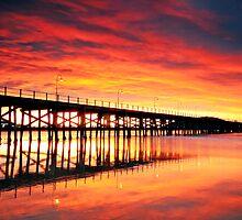 Coffs Harbour Sunrise by Annette Blattman